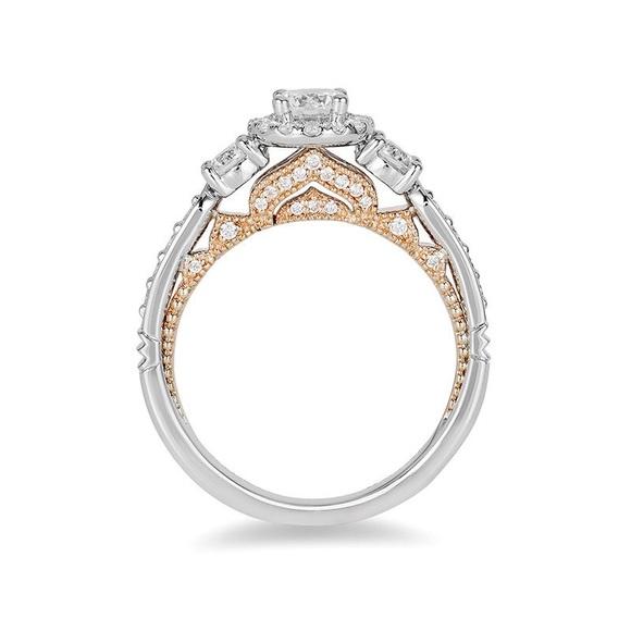 Zales Jewelry Enchanted Disney Jasmine 1 Ct Tw Diamond Three